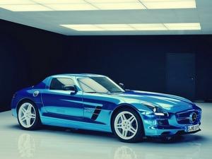 Обои Mercedes-Benz SLS AMG Coupe Electric