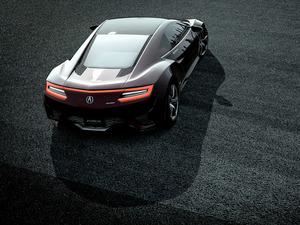 Обои Acura NSX 2016