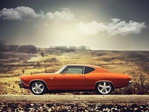 Обои Chevrolet SS