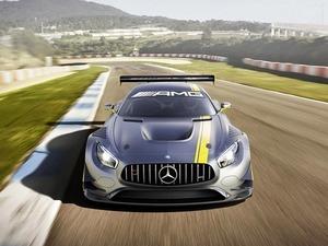 Обои Mercedes-Benz AMG GT3 2015
