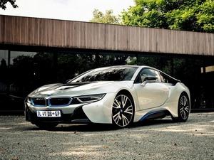 Обои BMW i8