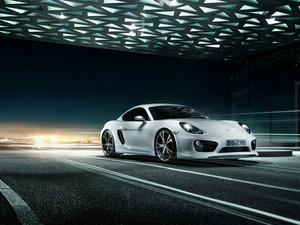 Обои Porsche Cayman