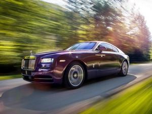 Обои Rolls-Royce Wraith