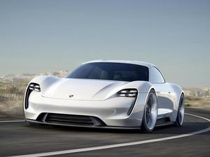 Обои Porsche Mission E Concept