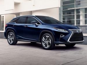 Обои Lexus RX hybrid