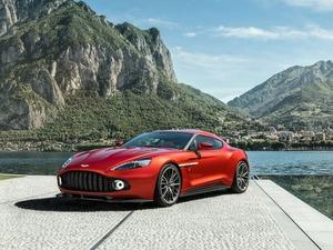 Обои Aston Martin Vanquish Zagato