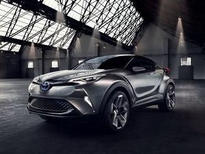 Обои Toyota C-HR concept