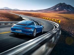 Обои Porsche 911 Targa 4