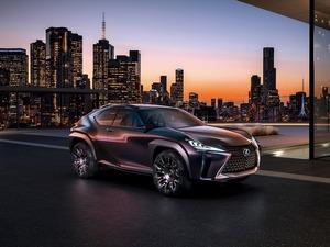 Обои Lexus UX Concept