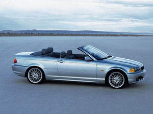 Обои BMW 3-series cabrio