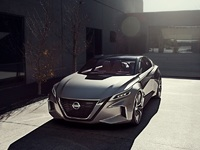 Обои для рабочего стола: Nissan Vmotion 2.0 Concept