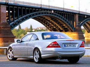Обои Mercedes CL55