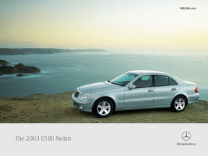 ���� Mercedes Benz E500 Sedan