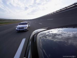Обои AMG Mercedes CL65