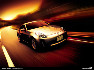 Обои Nissan 350Z Fairlady