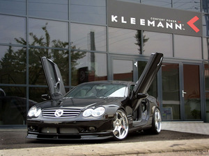 Обои Mercedes-Benz CLK-klasse Kleemann