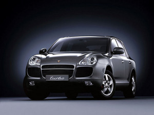 Обои Porsche Cayenne Turbo