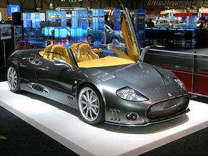 Обои Spyker C8 Spyder