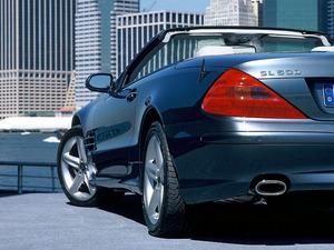 Обои Mercedes SL500