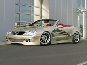 Обои Mercedes Cabrio