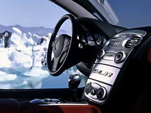 Обои Mercedes SLR