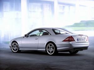 Обои Mercedes CL65 AMG
