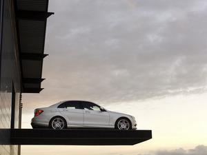 Обои Mercedes C-class