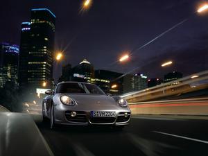 Обои Porsche Cayman S