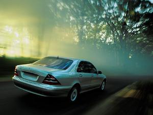 Обои Mercedes-Benz S-klasse