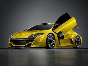 Обои Renault Megane Coupe Concept