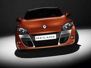 Обои Renault Megane Coupe