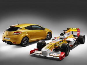 Обои Renault Megane RS