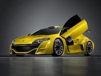 Обои для рабочего стола: Renault Megane Coupe Concept