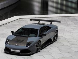 Обои Lamborghini Murcielago BF design