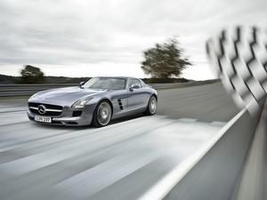 Обои Mercedes SL300