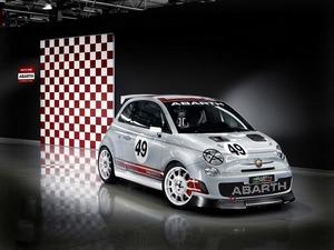 Обои Abarth Fiat 500