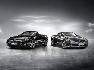 Обои Mercedes SL и Mercedes SLK