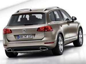 Обои VW Touareg Hybrid