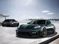 Обои для рабочего стола: Porsche Panamera Mansory