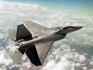 Обои F-22 Raptor