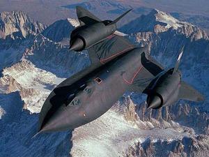 Обои SR-71 Blackbird