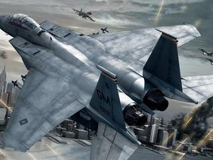 Обои F-15E Strike Eagle