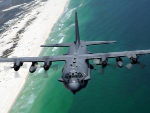 Обои Lockheed AC-130