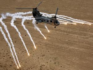 Обои Вертолёт Boeing Vertol CH-46 Sea Khight