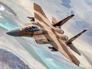 Обои McDonnell Douglas F-15 Eagle