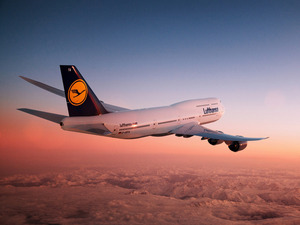 Обои Боинг 747