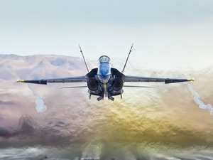 Обои FA-18 Hornet