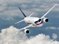 Обои для рабочего стола: Sukhoi Superjet 100