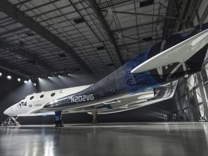 ���� Virgin Galactic SpaceShipTwo VSS Unity