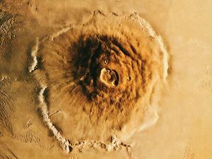 Обои Гора Олимп, Марс
